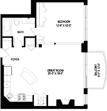 1330 W Monroe Floorplan - 06 Tier*
