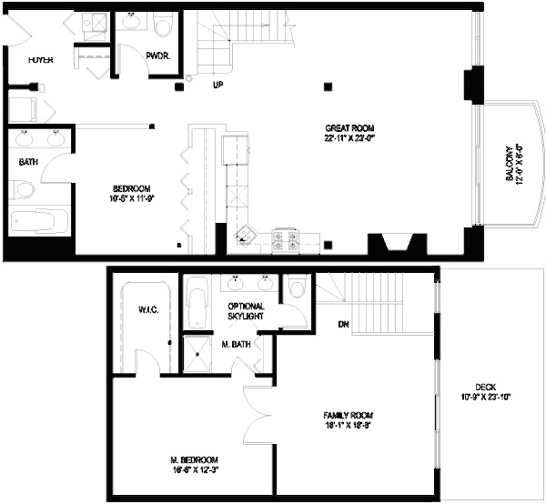 1330 W Monroe Floorplan - 08 Tier*