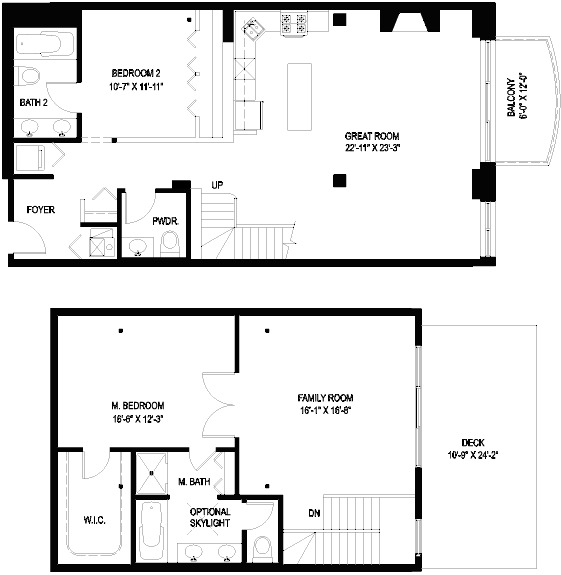 1330 W Monroe Floorplan - 09 Tier*
