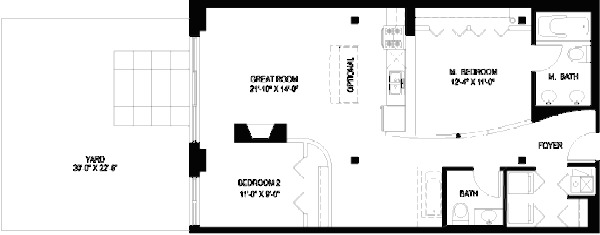 1330 W Monroe Floorplan - 12 Tier*