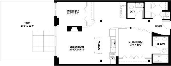 1330 W Monroe Floorplan - 14 Tier*
