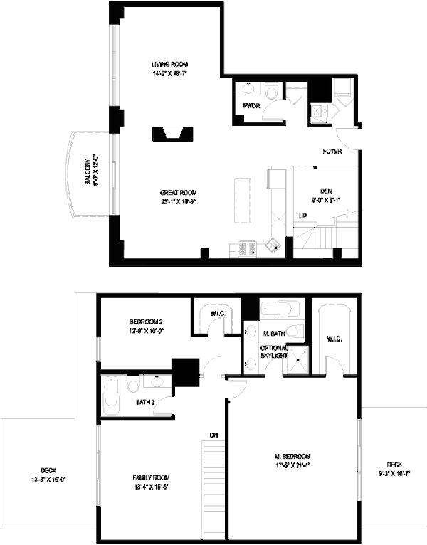 1330 W Monroe Floorplan - 16 Tier*