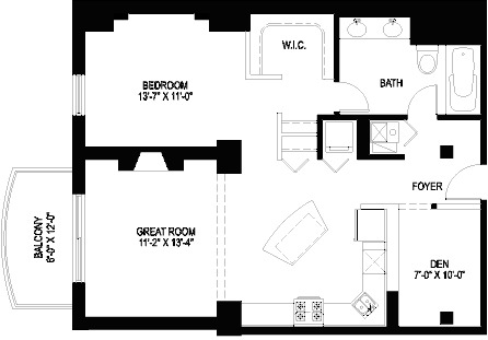 1330 W Monroe Floorplan - 17 Tier*