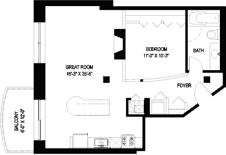 1330 W Monroe Floorplan - 18 Tier*