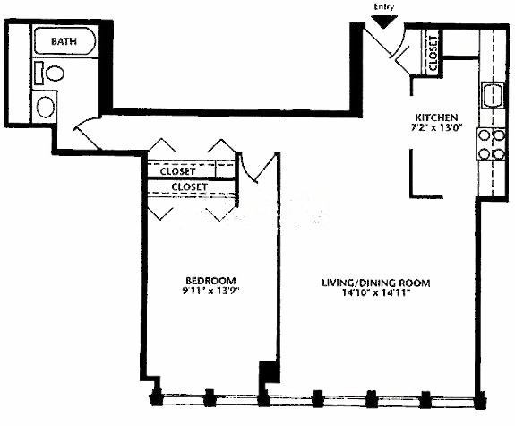 444 W Fullerton Floorplan - 06 Tier