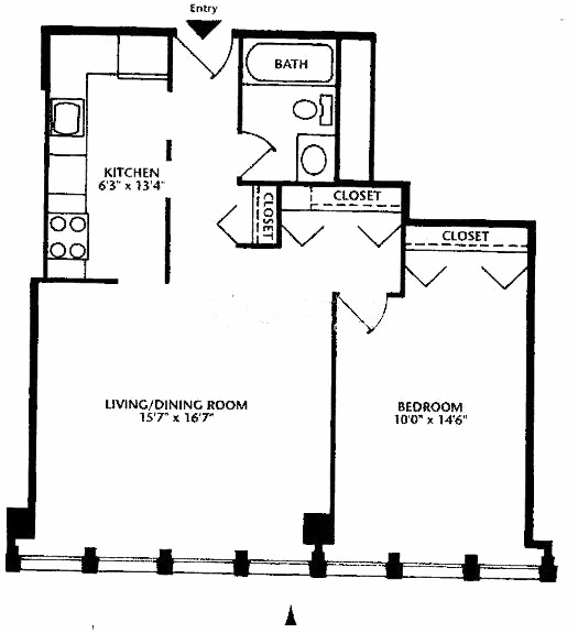 444 W Fullerton Floorplan - 07 Tier