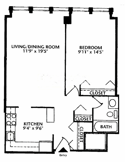 444 W Fullerton Floorplan - 10 Tier