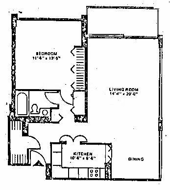88 W Schiller Floorplan - 01, 02, 08, 09 Tier