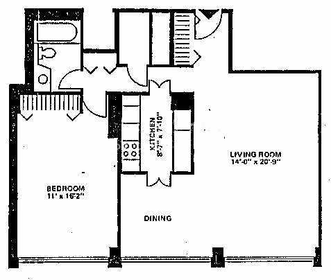 88 W Schiller Floorplan - 04, 06 Tier