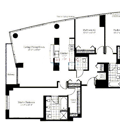 201 N Westshore Floorplan - The Arabella 01 Tier