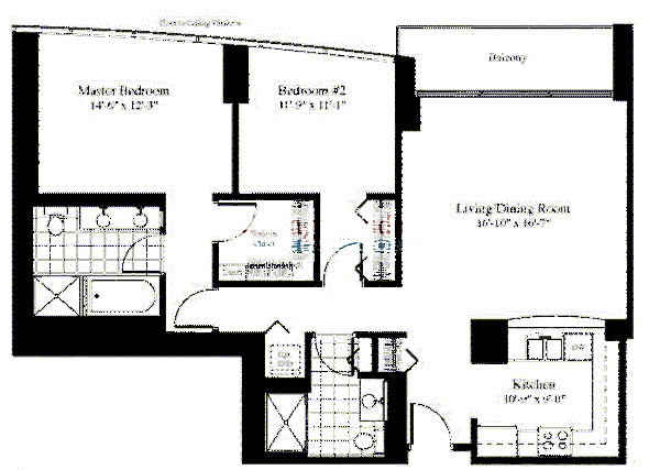 201 N Westshore Floorplan - The Emden 05 Tier