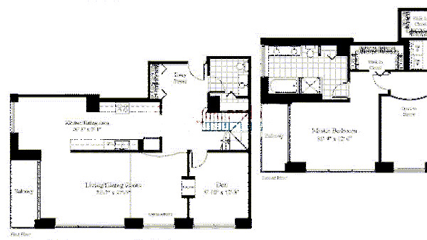 201 N Westshore Floorplan - The Olympic*