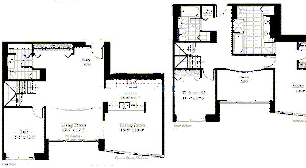 201 N Westshore Floorplan - The Paragon*