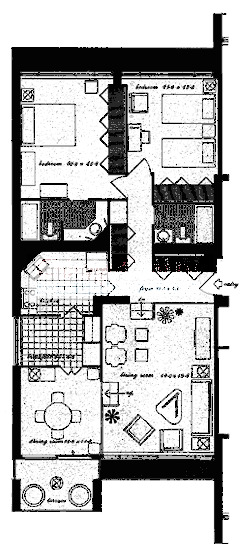 3200 N Lake Shore Drive Floorplan - 01, 11 Tiers
