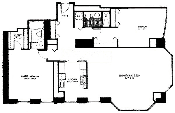 100 E Huron Floorplan - 03 Tier
