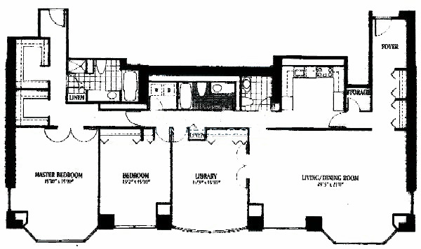 100 E Huron Floorplan - 04 Tier