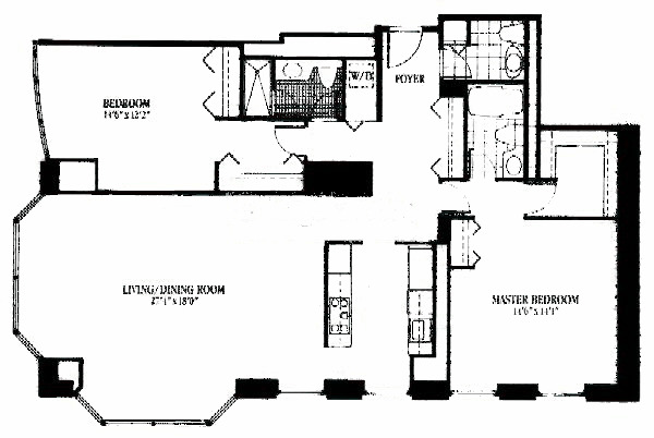 100 E Huron Floorplan - 05 Tier