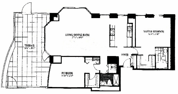 100 E Huron Floorplan - 06 Tier*