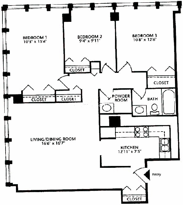 444 W Fullerton Floorplan - 09 Tier