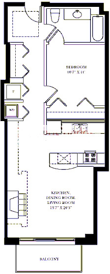 1201 W Adams Floorplan - 07 Tier*