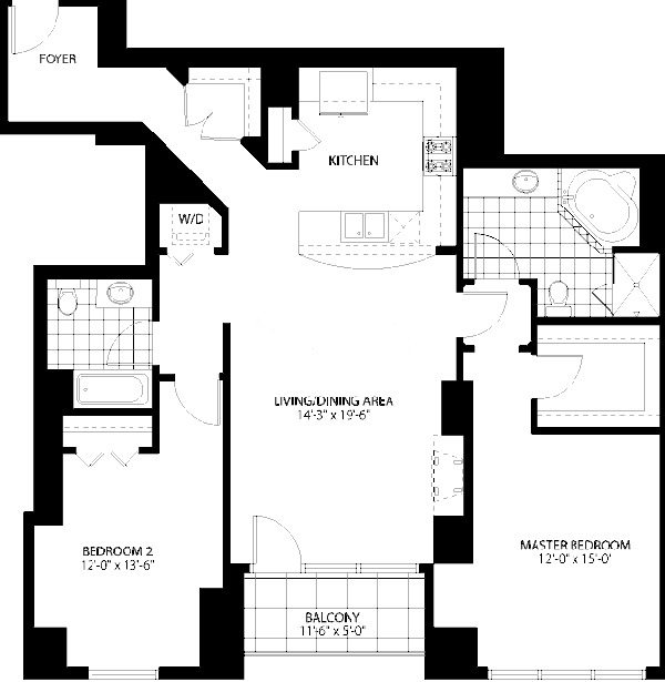 160 E Illinois St Floorplan - 01 Tier