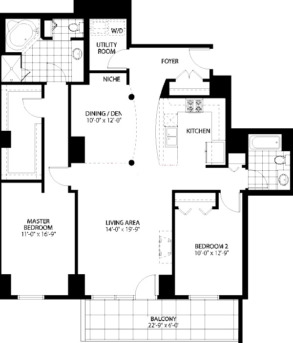 160 E Illinois St Floorplan - 02 Tier*