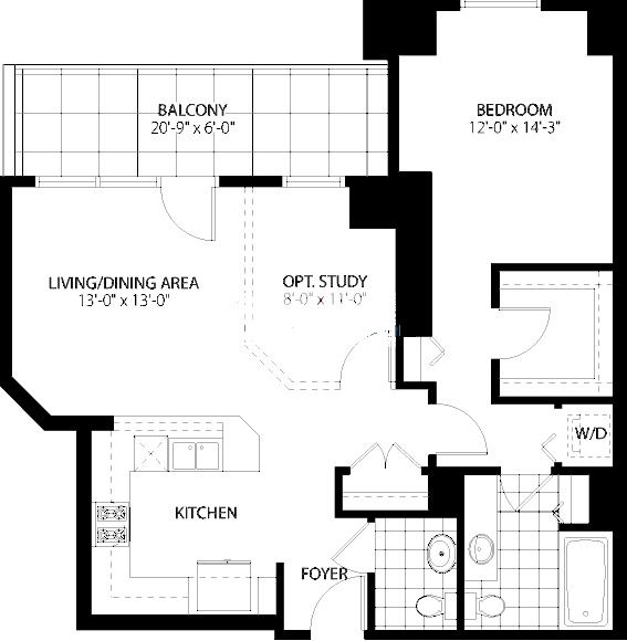 160 E Illinois St Floorplan - 04 Tier*