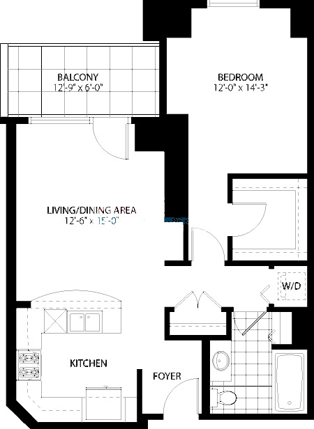 160 E Illinois St Floorplan - 04 Tier