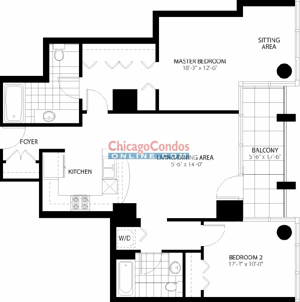 160 E Illinois St Floorplan - 07 Tier*