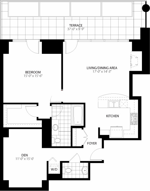 160 E Illinois St Floorplan - 03 Tier*