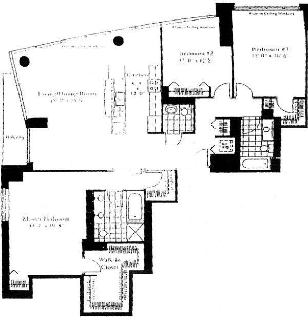 201 N Westshore Floorplan - 01 Tier*