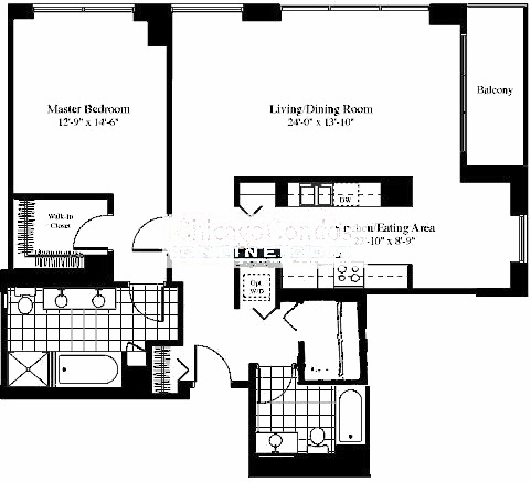 201 N Westshore Floorplan - 07 Tier*