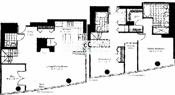 201 N Westshore Floorplan - The Raphael 08 Tier*