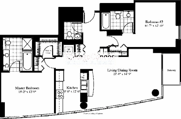 201 N Westshore Floorplan - The Halswell 08 Tier