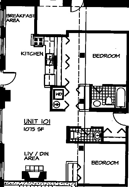 226 N Clinton Floorplan - 01 Tier*