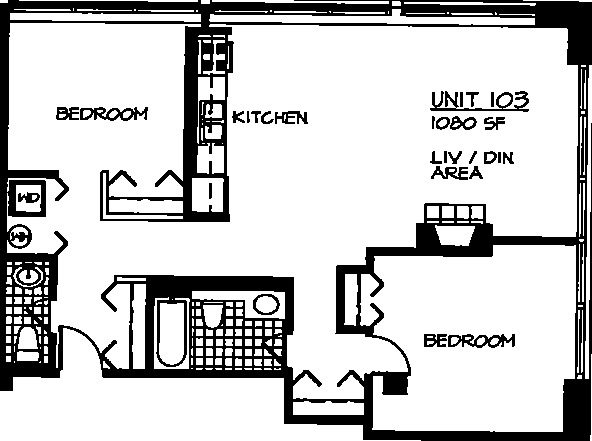 226 N Clinton Floorplan - 03 Tier*