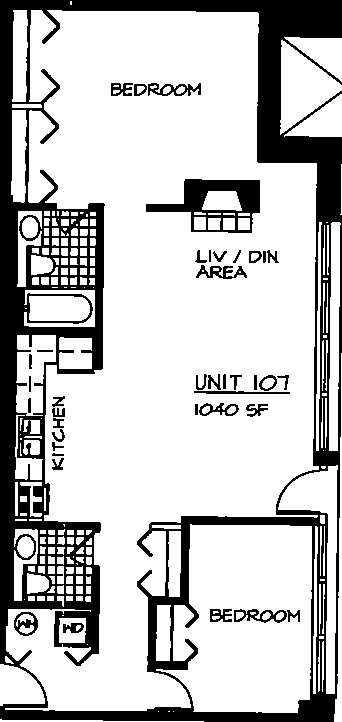 226 N Clinton Floorplan - 07 Tier*