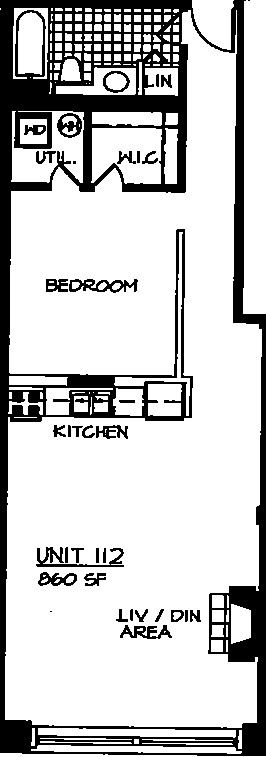 226 N Clinton Floorplan - 12 Tier*