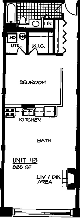 226 N Clinton Floorplan - 13 Tier*