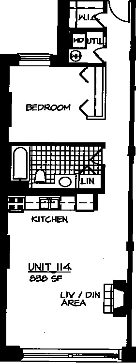 226 N Clinton Floorplan - 14 Tier