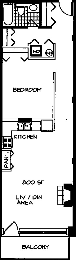 226 N Clinton Floorplan - 18 Tier*