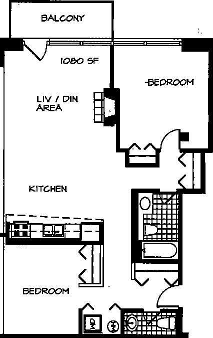 226 N Clinton Floorplan - 04 Tier