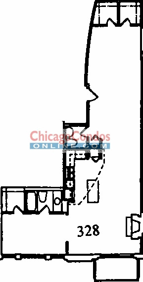 2300 W Wabansia Ave Floorplan - 28 Tier