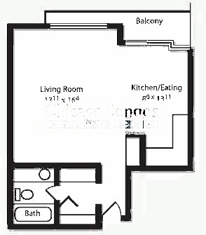 2600 N Hampden Ct Floorplan - C, D, E, F Tiers