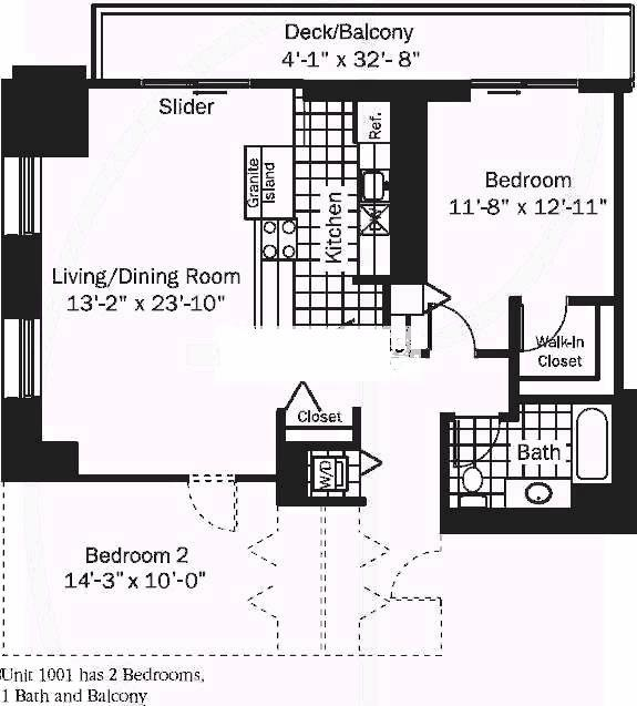 545 N Dearborn Floorplan - 01 Tier*