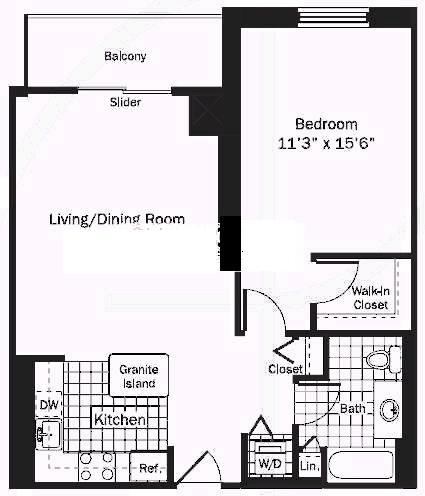 545 N Dearborn Floorplan - 02 Tier*