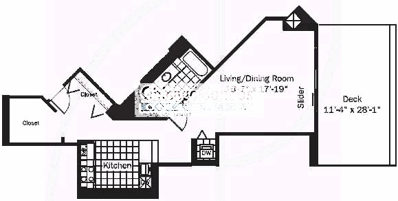 545 N Dearborn Floorplan - 05 Tier*