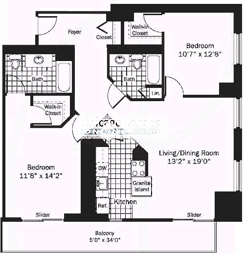 545 N Dearborn Floorplan - 07 Tier