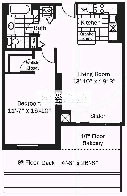 545 N Dearborn Floorplan - 08 Tier