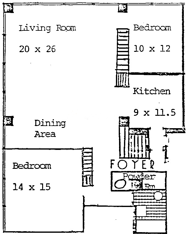 860 N Lake Shore Drive Floorplan - 25L Tier